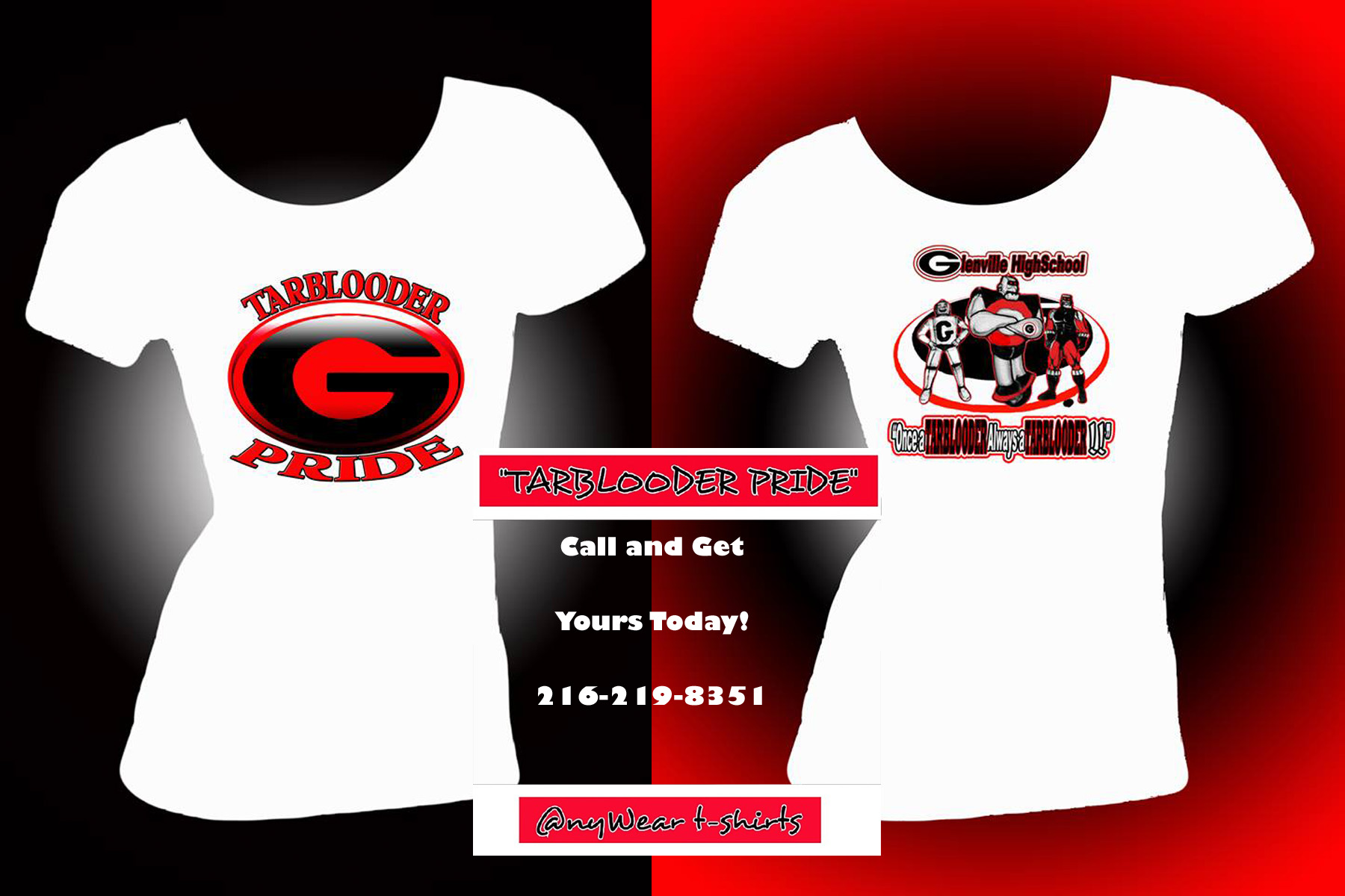 Glenville Designs By Ny Wear Tee Shirt Designs Glenville All
