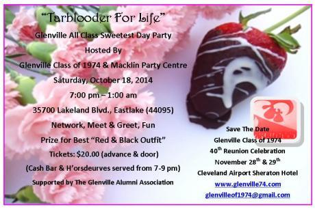 Glenville & Macklin Sweetest Day Event